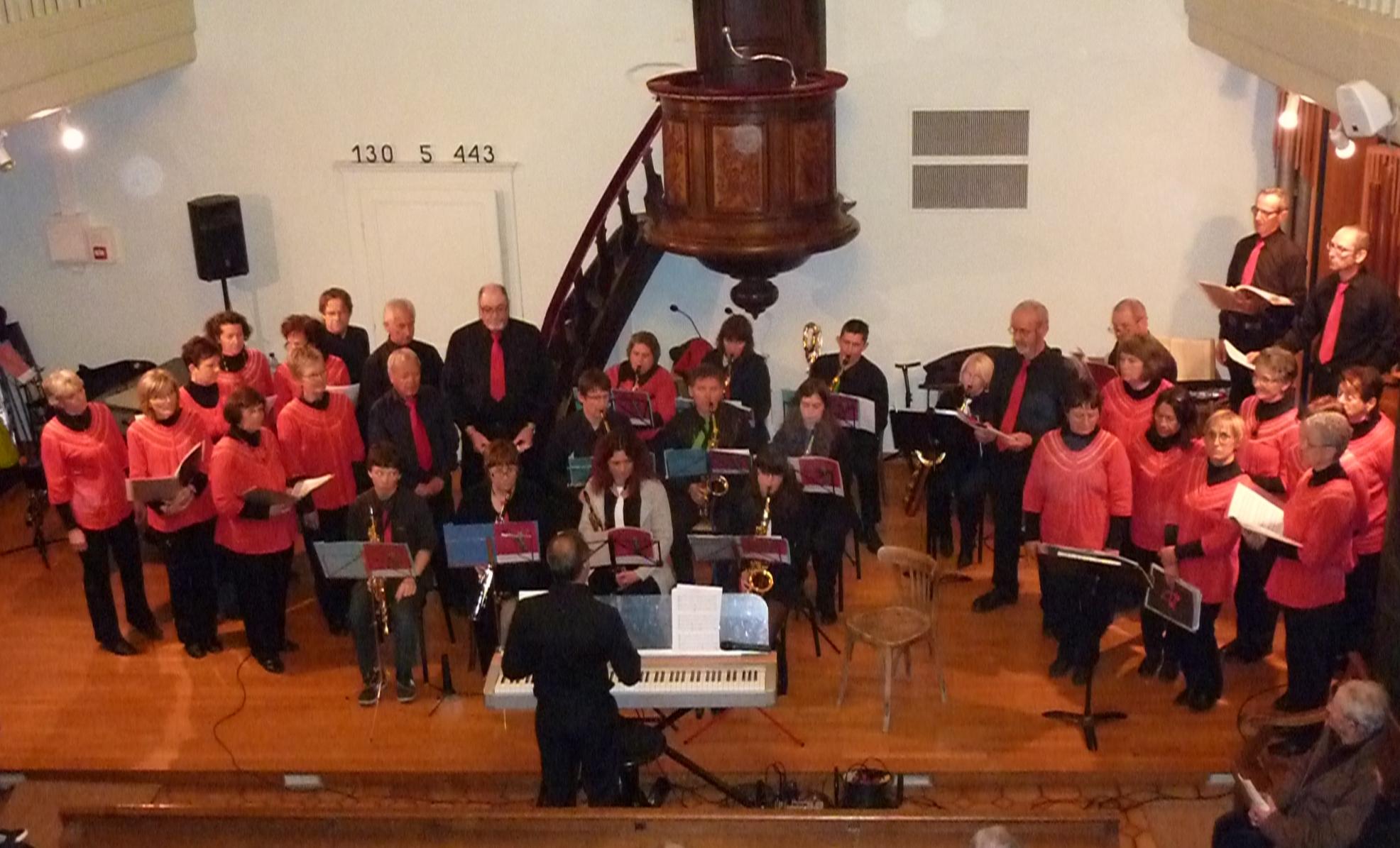"""Concert à Mens avec """"La tête dans le sax"""" - 24 mars 2013"""