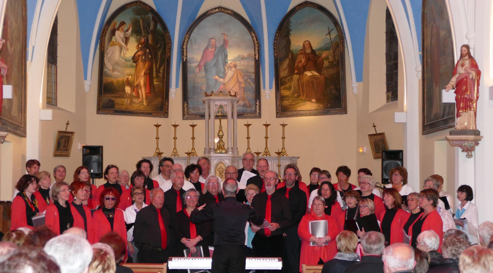 Concert au Freney avec la Chorale des Cîmes - 9 avril 2016
