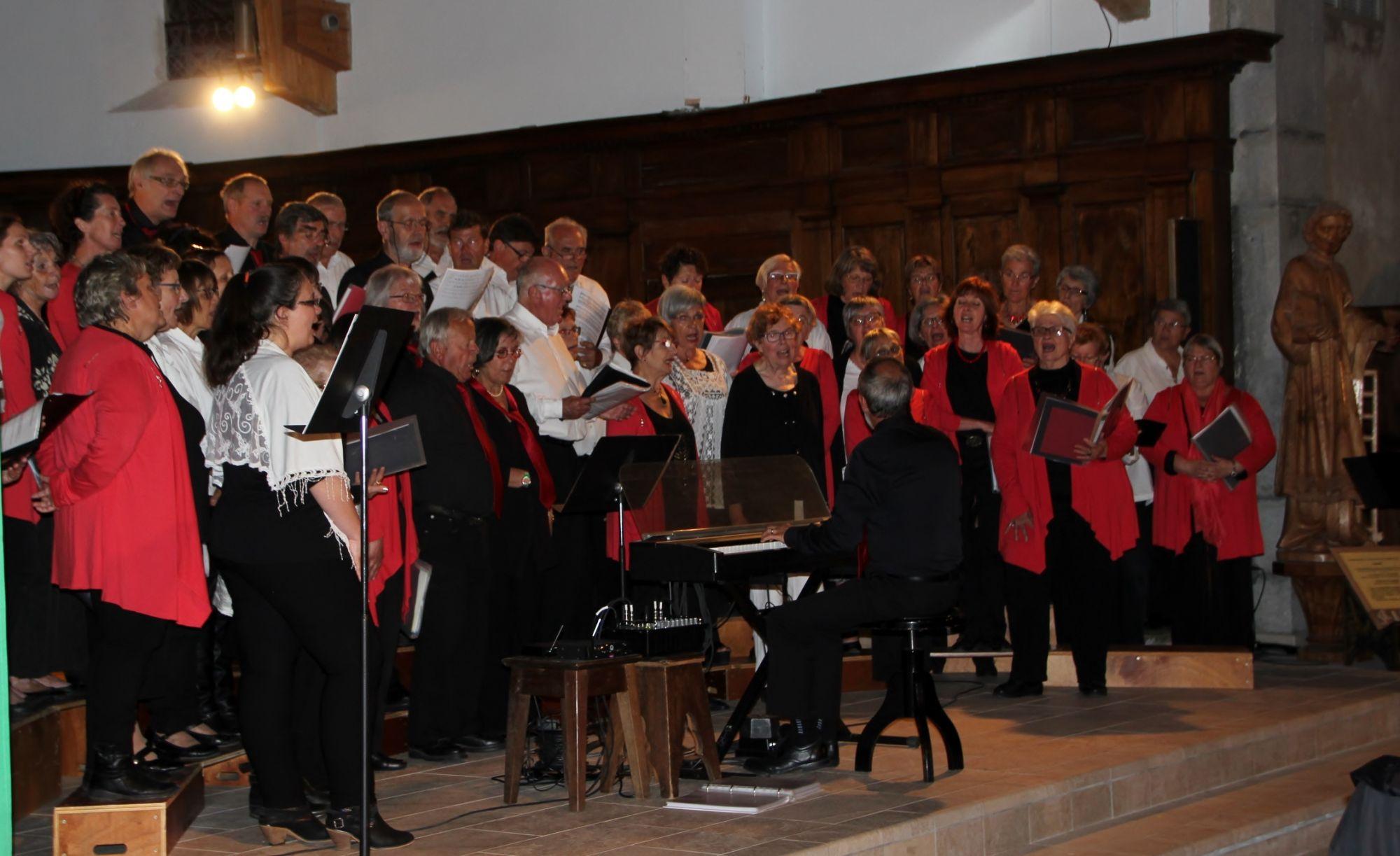 Concert avec la Chorale Beaujolaise - 18 juin 2016